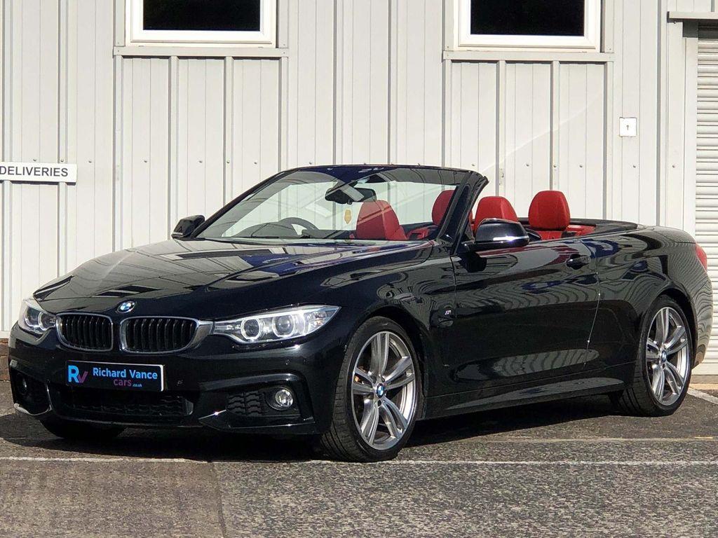 BMW 4 Series Convertible 2.0 428i M Sport Auto 2dr