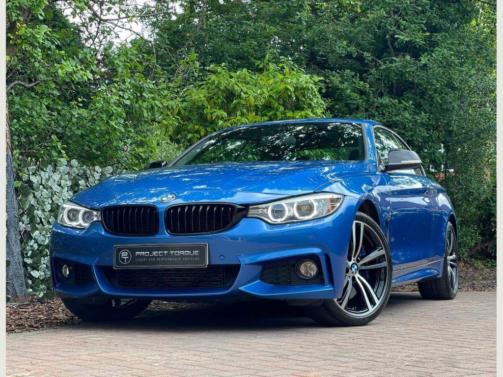 BMW 4 Series Convertible 3.0 435d M Sport Auto xDrive 2dr