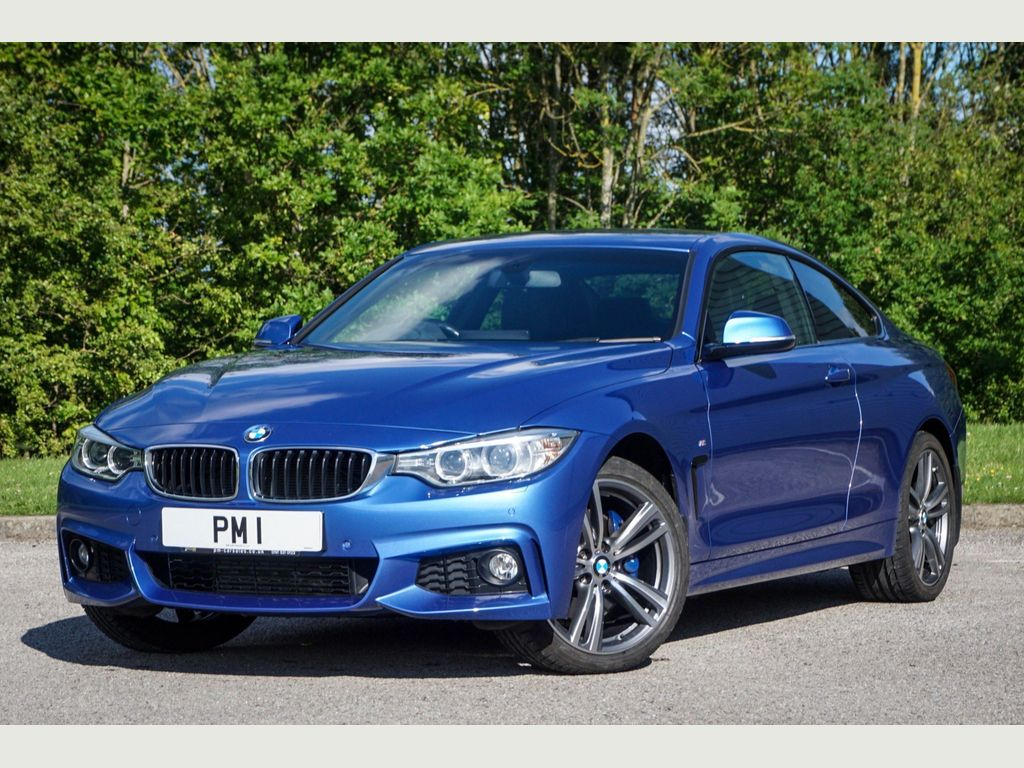 BMW 4 Series Coupe 2.0 420i M Sport xDrive 2dr