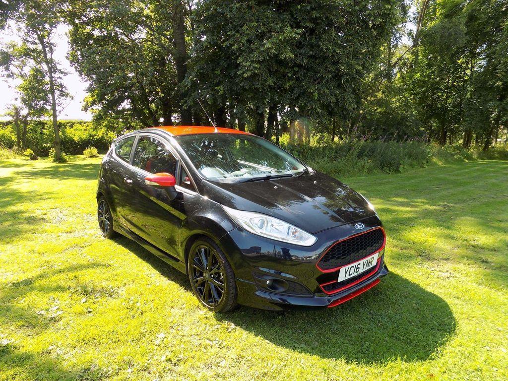 Ford Fiesta Hatchback 1.0 T EcoBoost Zetec S Black Edition (s/s) 3dr