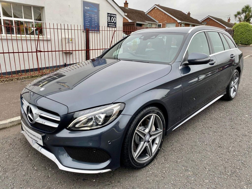 Mercedes-Benz C Class Estate 2.1 C220d AMG Line 7G-Tronic+ (s/s) 5dr