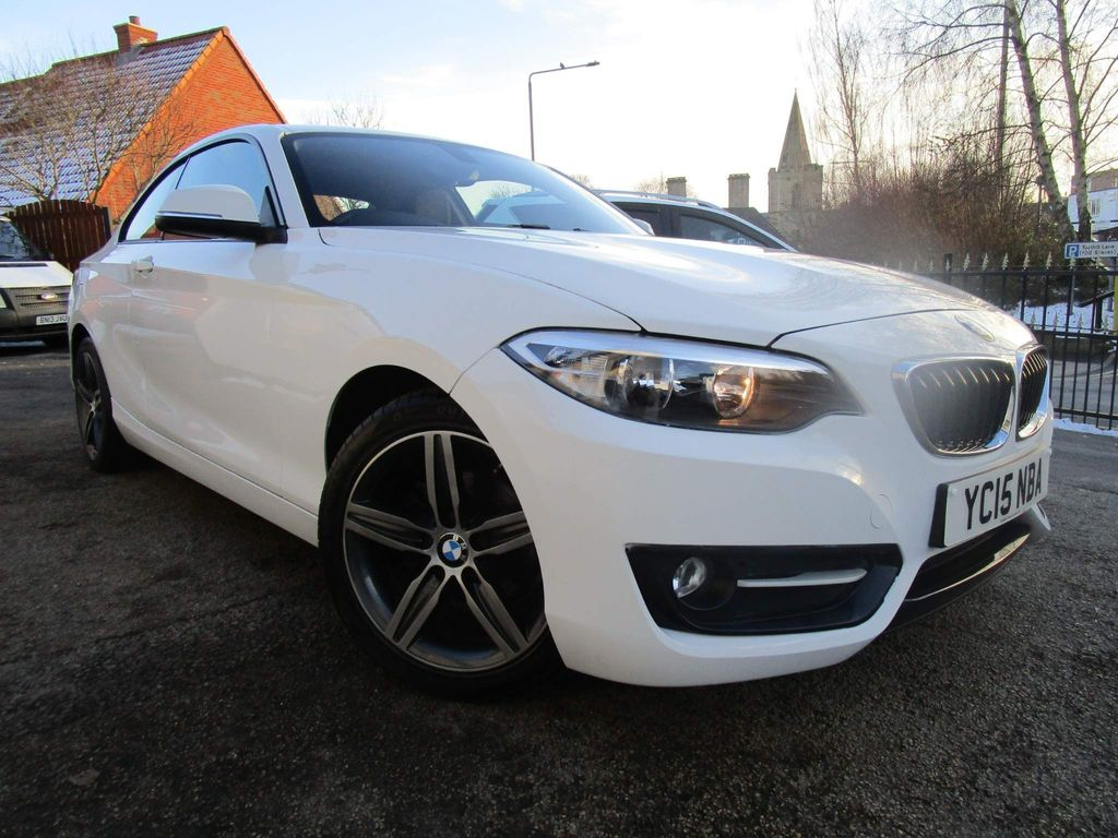BMW 2 Series Coupe 2.0 218d Sport (s/s) 2dr