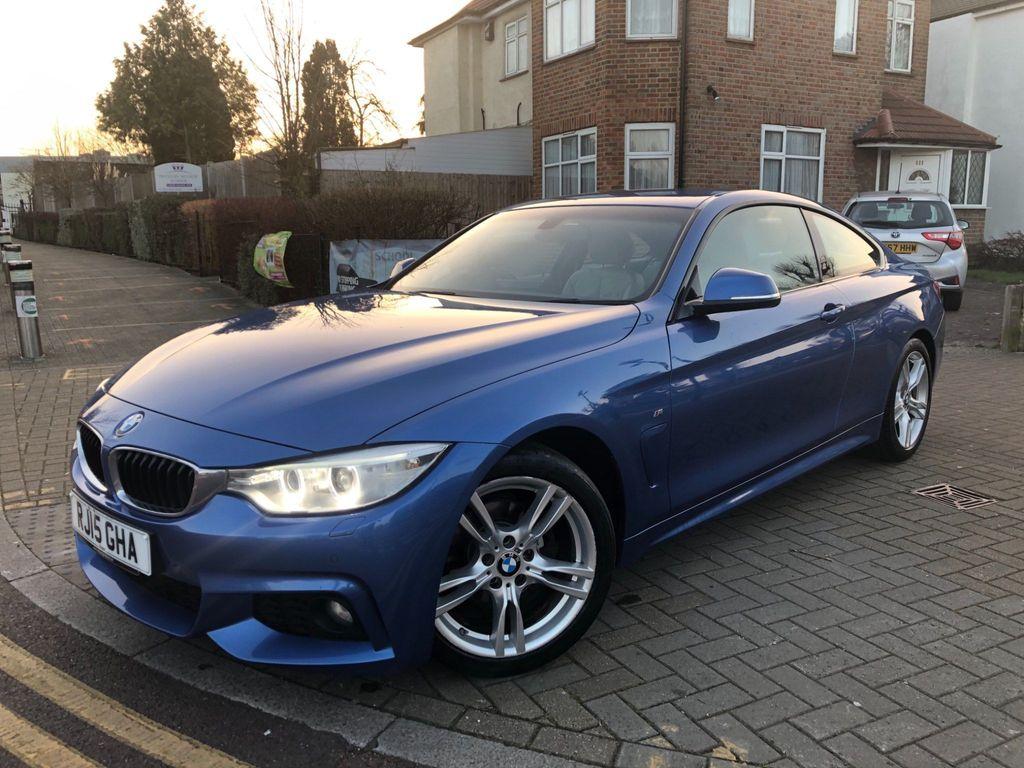 BMW 4 Series Coupe 2.0 420i M Sport Auto 2dr