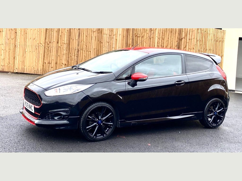 Ford Fiesta Hatchback 1.0 EcoBoost Zetec S Black Edition (s/s) 3dr