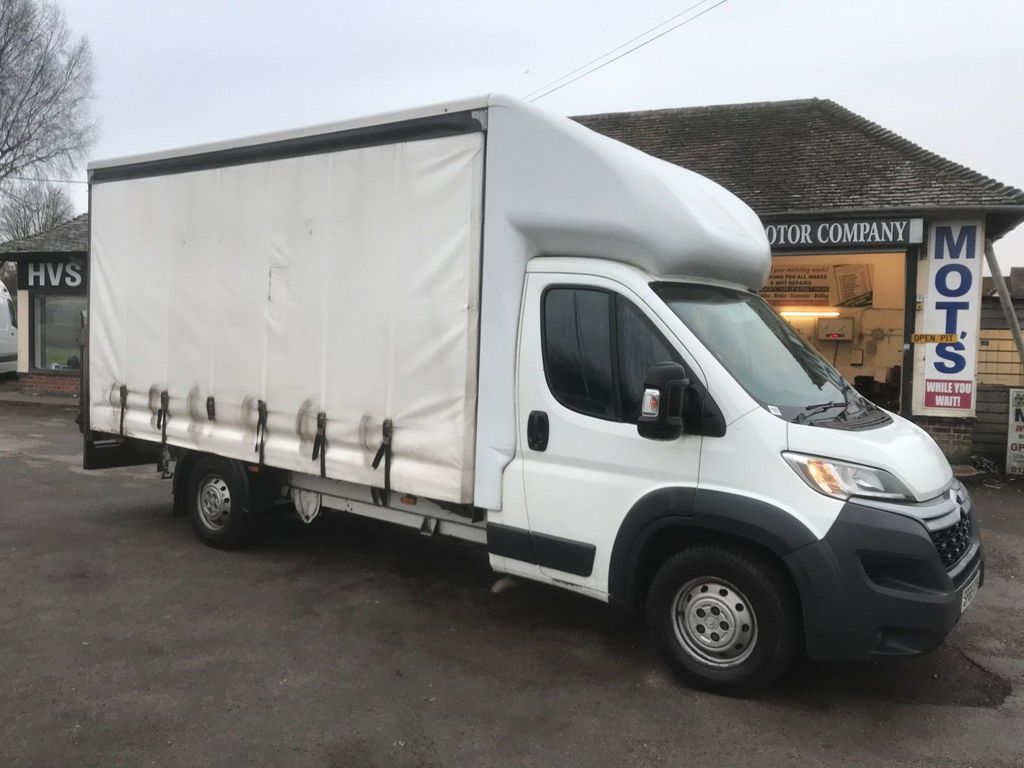 Citroen Relay Curtain Side L4 .14ft Curtain sider . Tail Lift