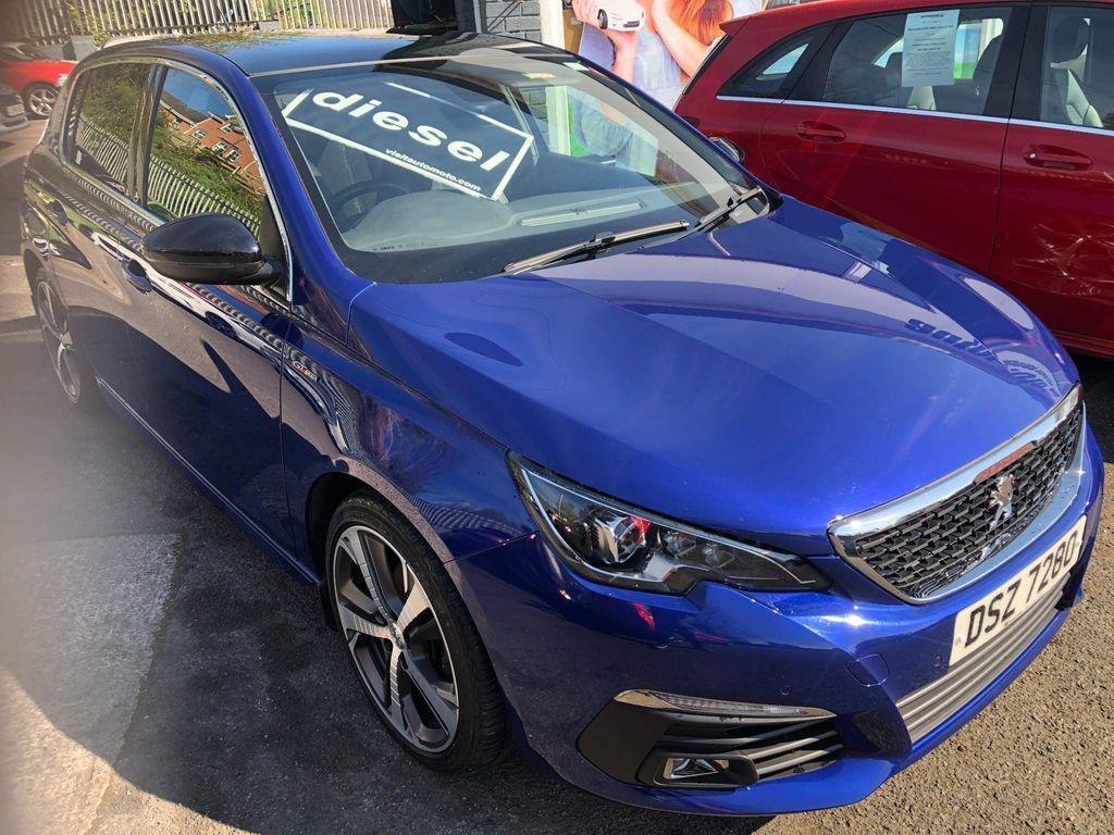 Peugeot 308 Hatchback 1.5 BlueHDi GT Line (s/s) 5dr