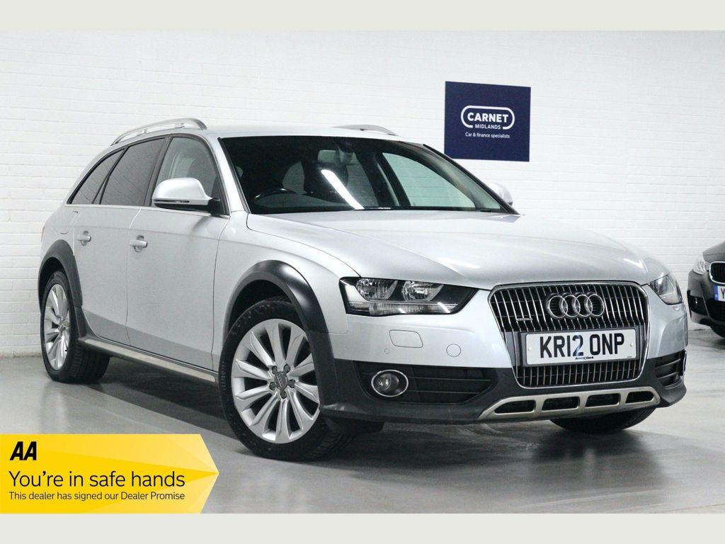 Audi A4 Allroad Estate 3.0 TDI Estate 5dr Diesel S Tronic quattro (161 g/km, 268 bhp)