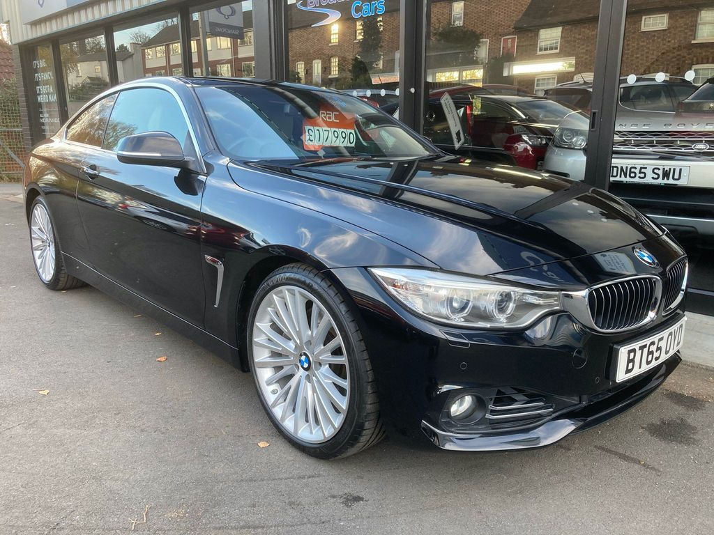 BMW 4 Series Coupe 3.0 435i Luxury Auto 2dr
