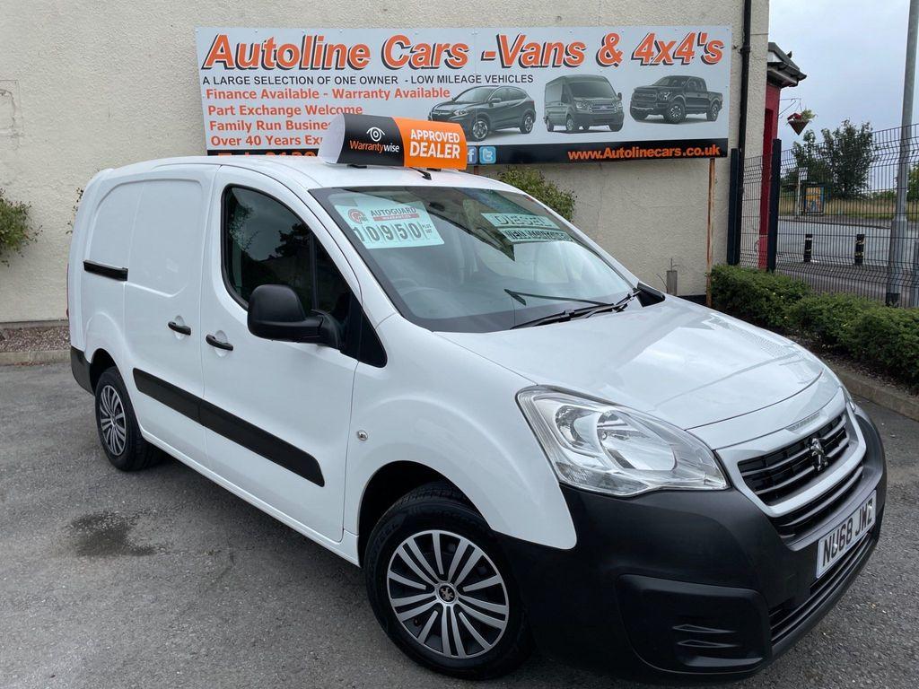 Peugeot Partner Combi Van 1.6 BLUEHDI L2 100 715 S CREW VAN 6 DOOR