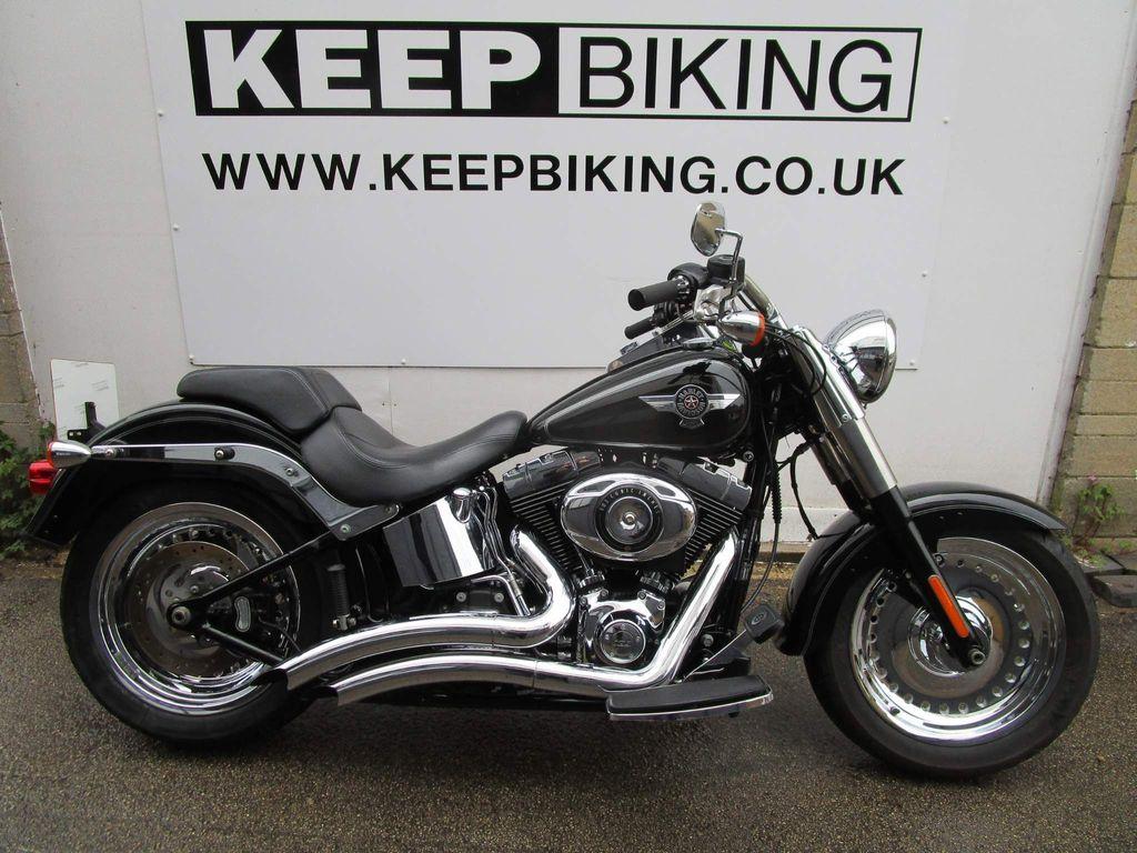 Harley-Davidson Softail Custom Cruiser 1690 FLSTF Fat Boy