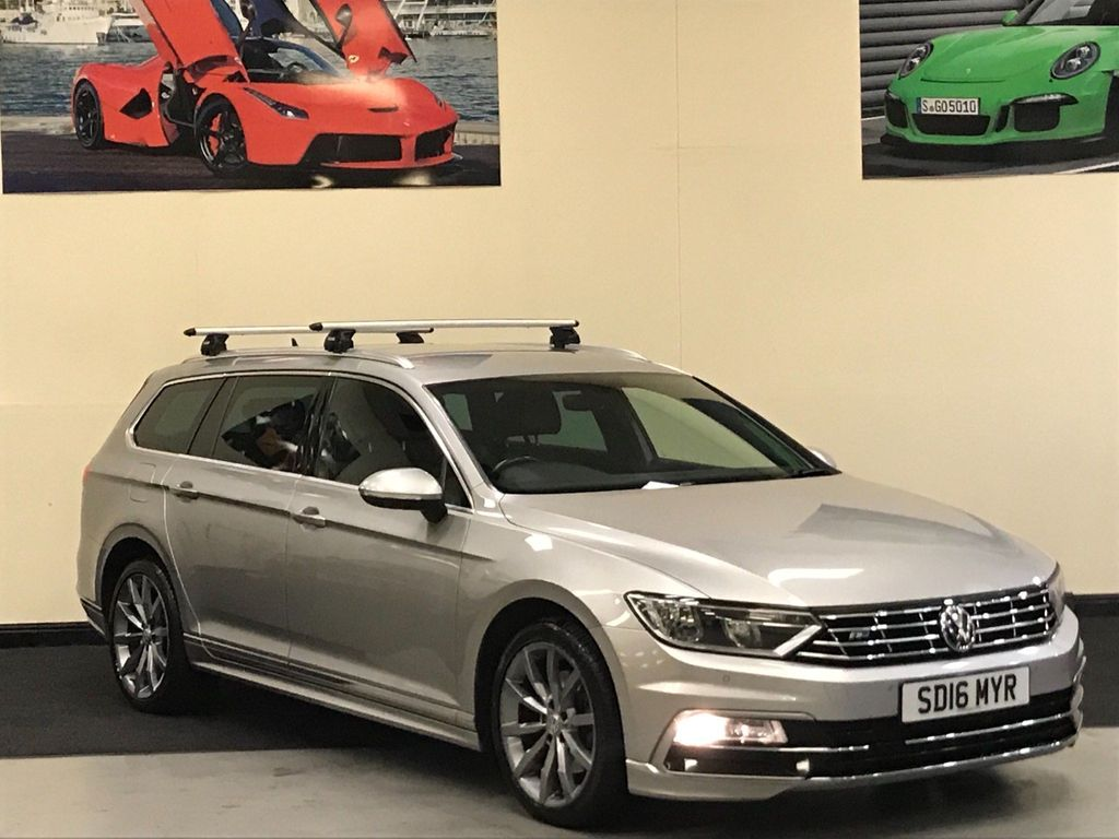 Volkswagen Passat Estate 2.0 TDI BlueMotion Tech R-Line DSG (s/s) 5dr