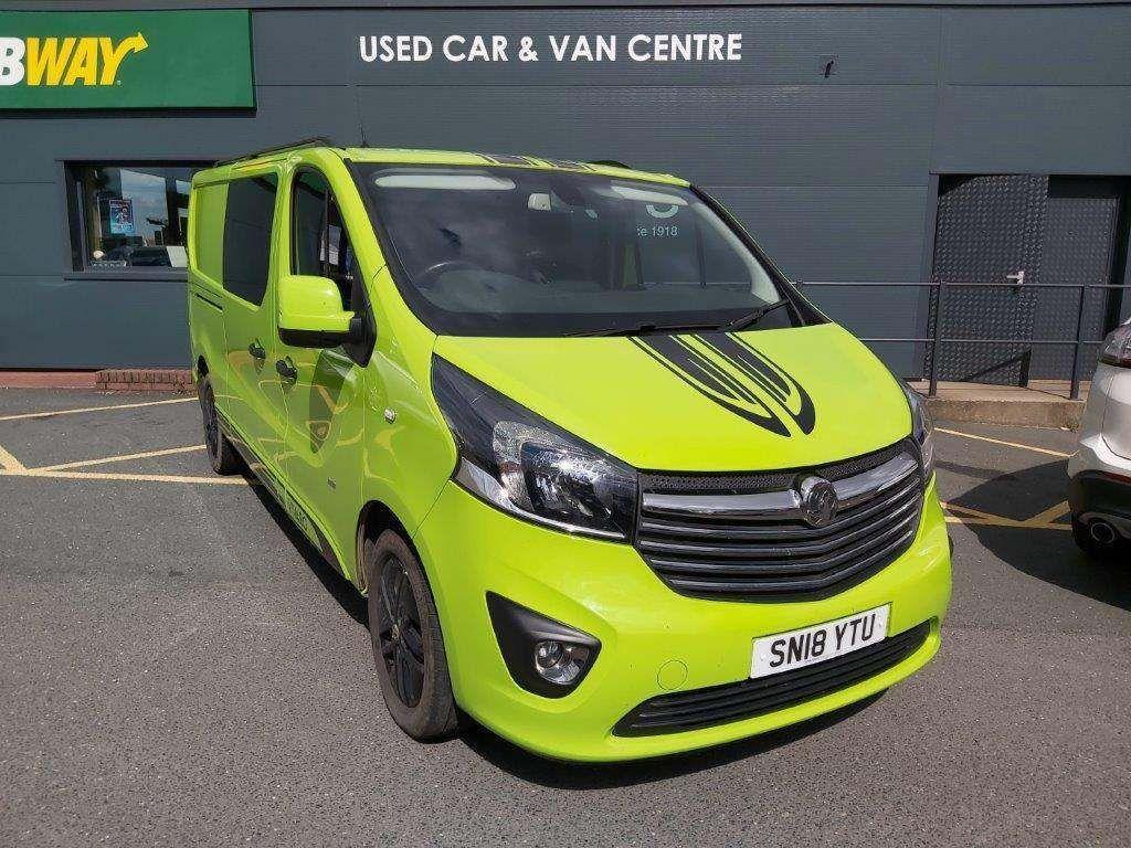 Vauxhall Vivaro Other 1.6 CDTi 2900 BiTurbo ecoTEC Limited Edition Nav Crew Van L2 H1 EU6 (s/s) 5dr (6 Seat)
