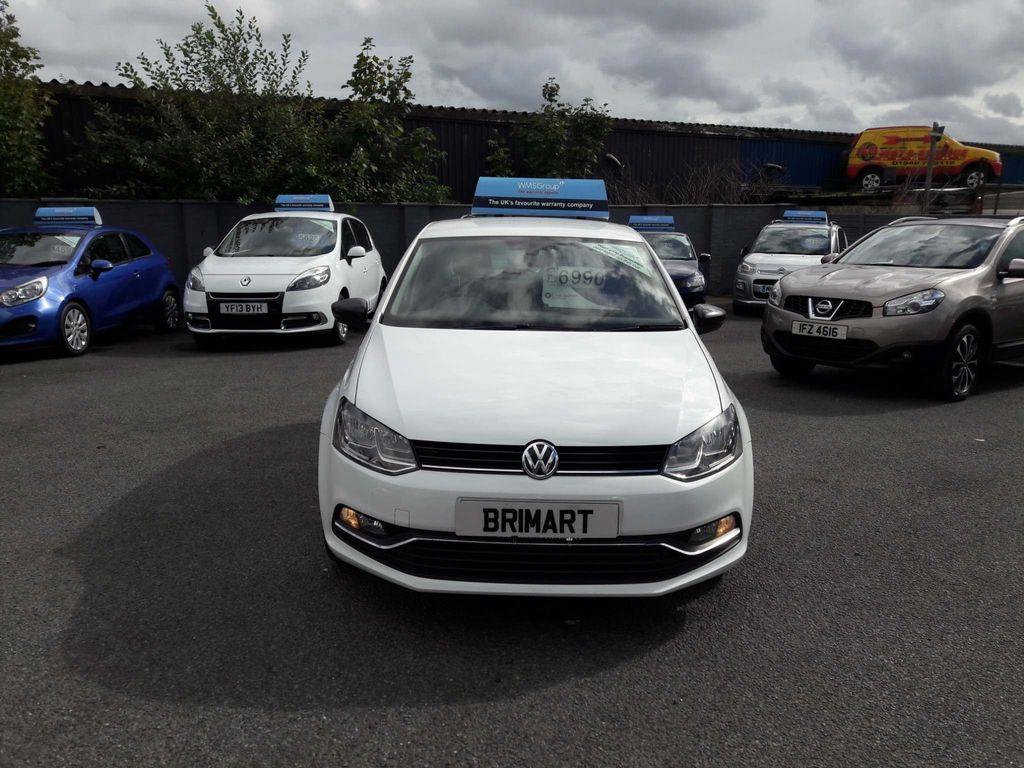 Volkswagen Polo Hatchback 1.4 TDI BlueMotion Tech SE Design (s/s) 5dr