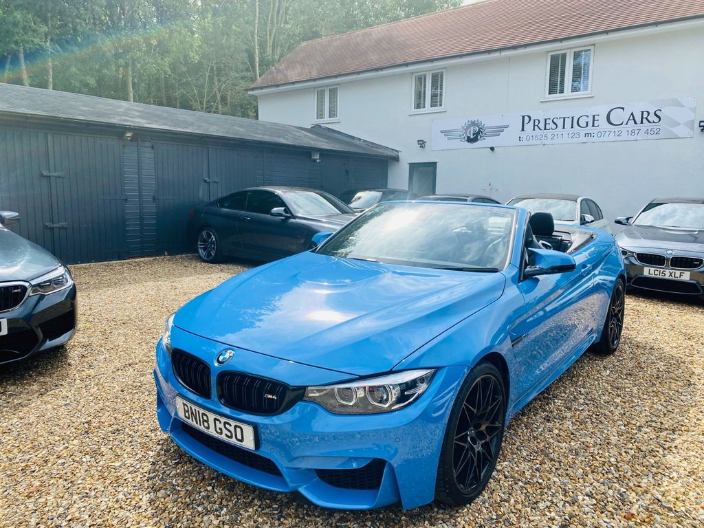 BMW M4 Convertible 3.0 BiTurbo (Competition Pack) DCT (s/s) 2dr
