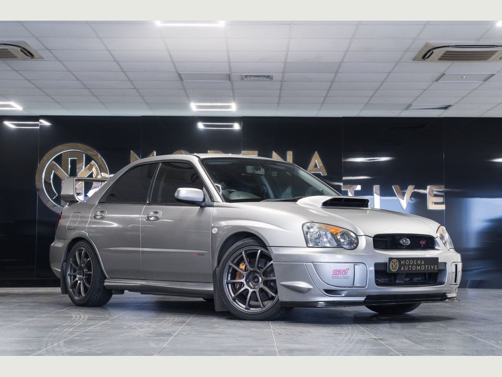 Subaru Impreza Saloon 2.0 WRX STI Type UK 4dr