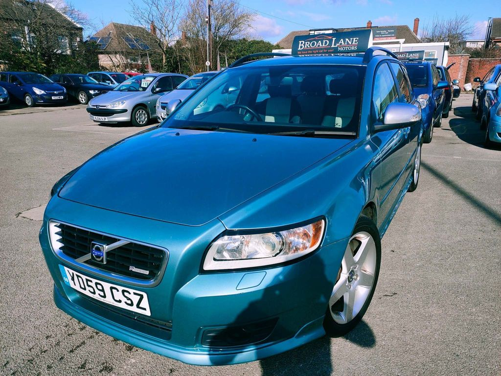 Volvo V50 Estate 1.6 D DRIVe R-Design 5dr