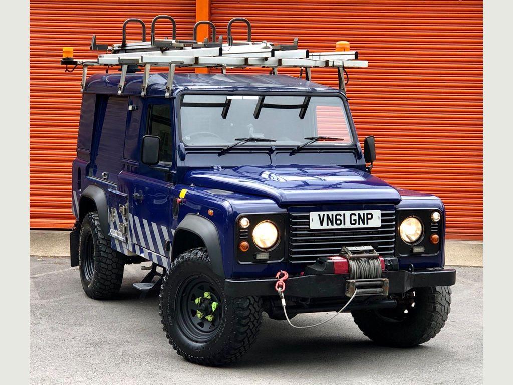 Land Rover Defender 110 SUV 2.4 TDi Hard Top MWB 3dr