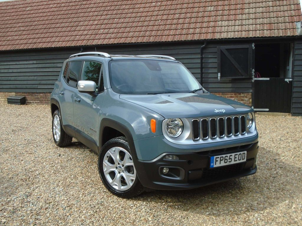 Jeep Renegade SUV 2.0 MultiJetII Limited 4WD (s/s) 5dr