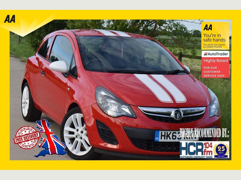 Vauxhall Corsa Hatchback 1.2 i VVT 16v Sting 3dr