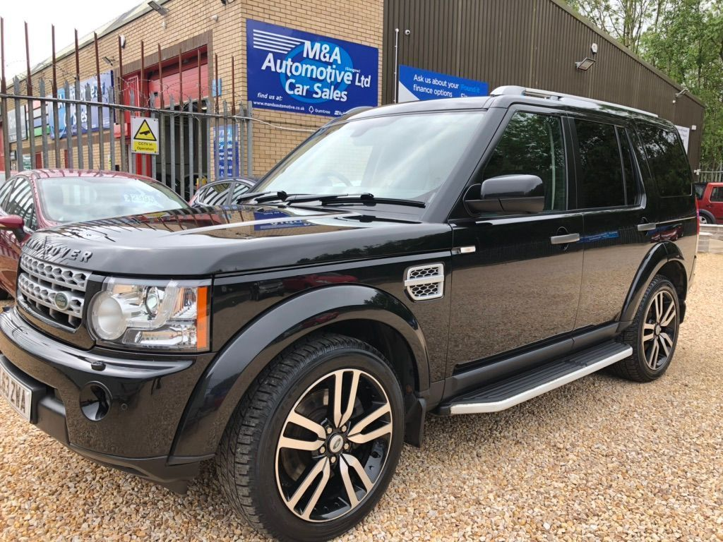 Land Rover Discovery Panel Van