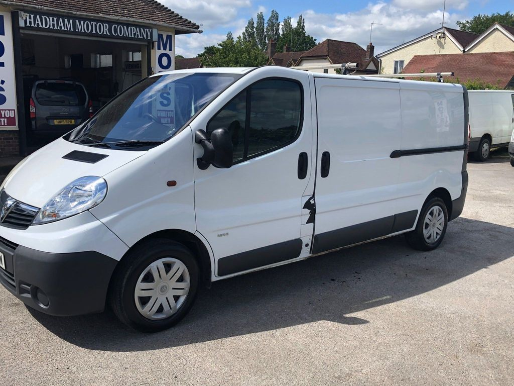 Vauxhall Vivaro Panel Van 1.9 CDTI 2900 High Roof 4dr (LWB)