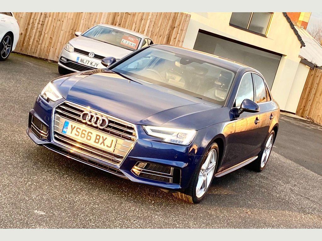 Audi A4 Saloon 2.0 TFSI S line S Tronic (s/s) 4dr