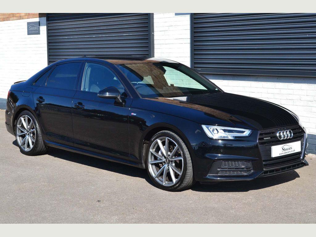 Audi A4 Saloon 2.0 TDI Black Edition S Tronic quattro (s/s) 4dr