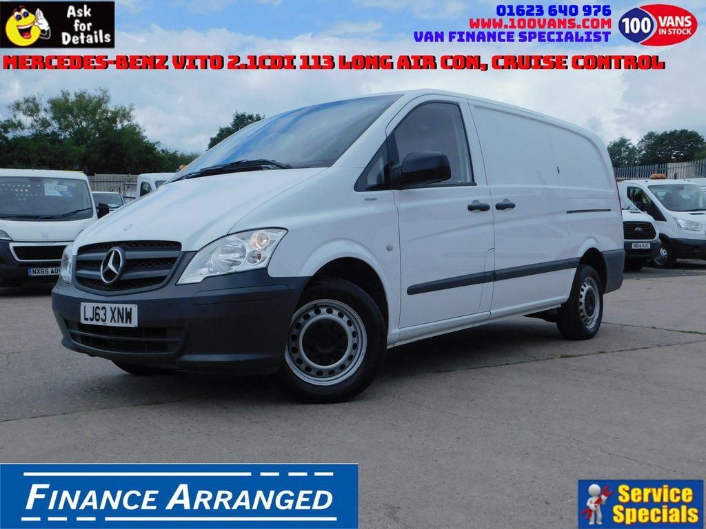 MERCEDES-BENZ VITO Panel Van SOLD SOLD SOLD