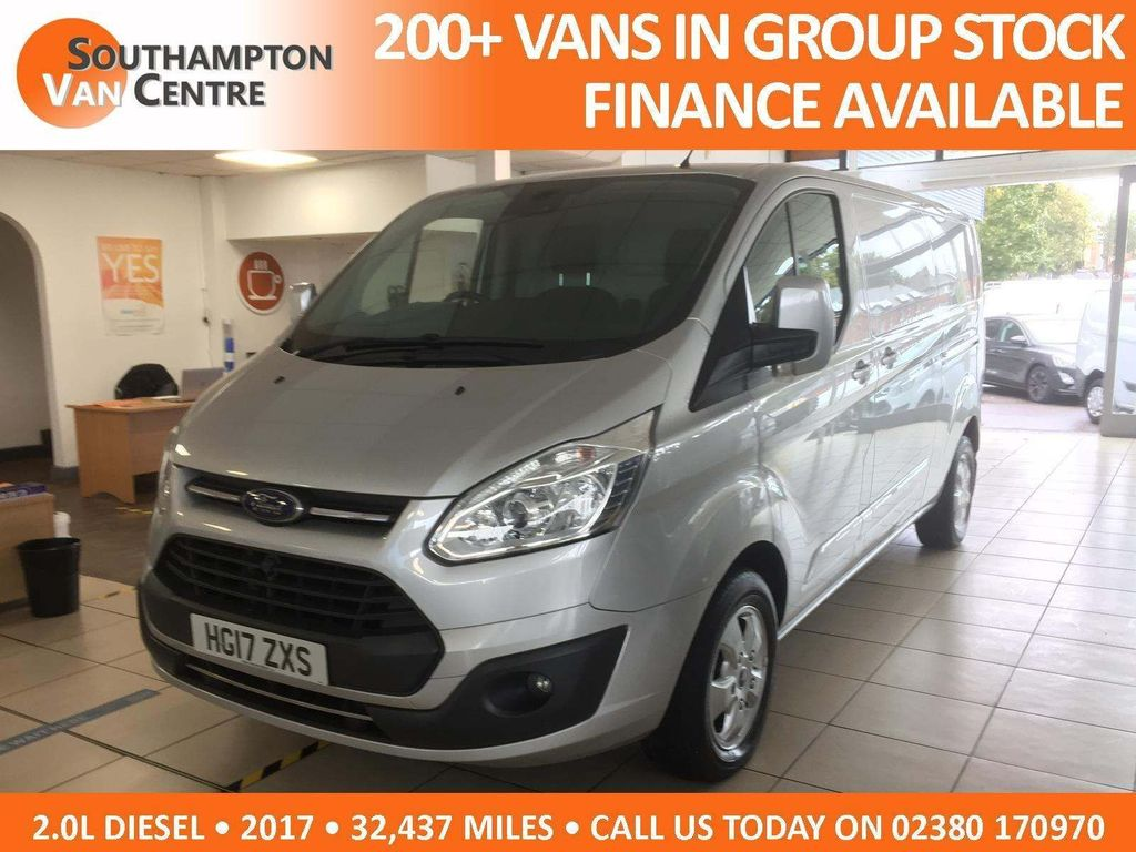 Ford Transit Custom Panel Van 2.0 TDCi 290 Limited L2 H1 5dr