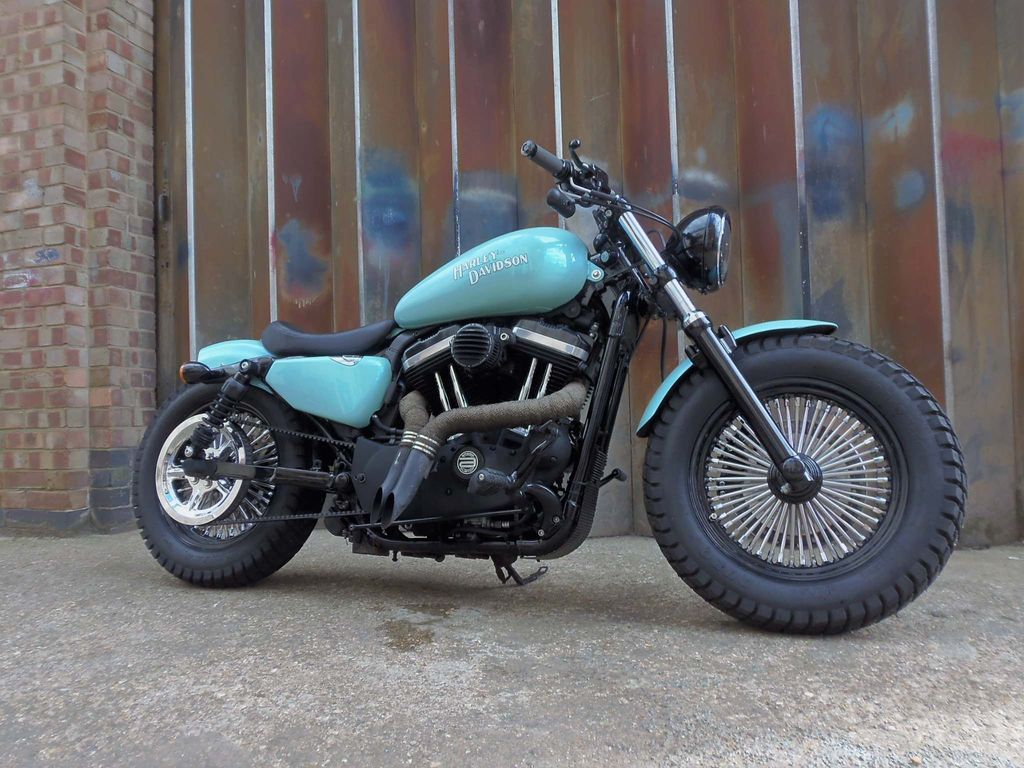 Harley-Davidson Sportster Custom Cruiser 1200 XL X Sportster Forty Eight