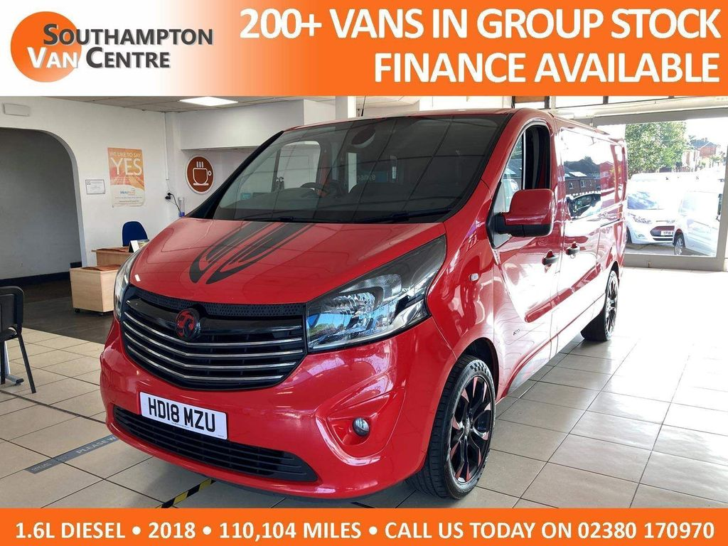 Vauxhall Vivaro Combi Van 1.6 CDTi 2900 BiTurbo ecoTEC Limited Edition Nav Crew Van L2 H1 EU6 (s/s) 5dr (6 Seat)