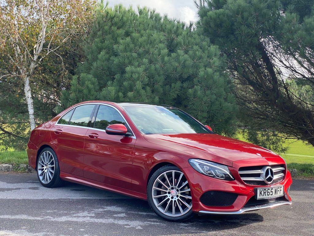 Mercedes-Benz C Class Saloon 2.1 C220d AMG Line (Premium) 7G-Tronic+ (s/s) 4dr