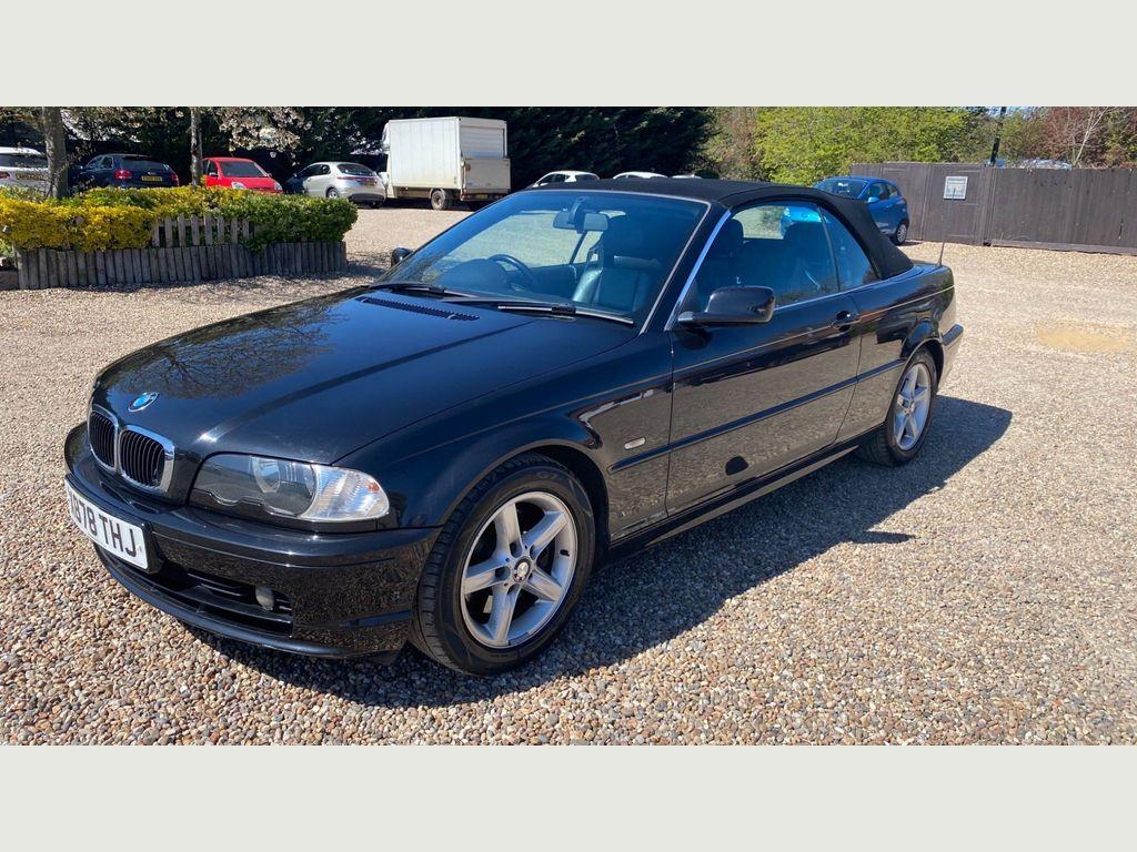 BMW 3 Series Convertible 2.5 325Ci 325 Auto 2dr