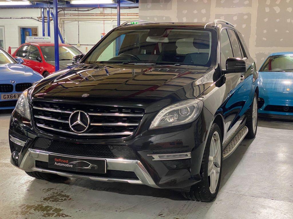 Mercedes-Benz M Class SUV 3.0 ML350 CDI BlueTEC AMG Line (Premium Plus) 7G-Tronic Plus 5dr