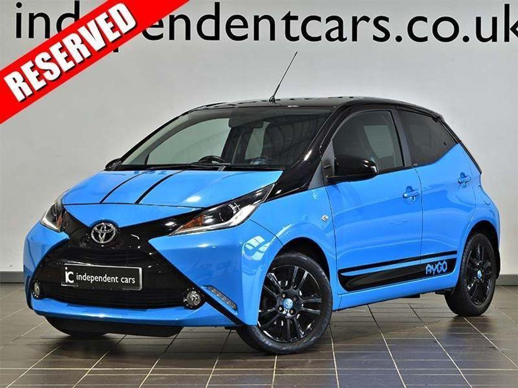 Toyota AYGO Hatchback 1.0 VVT-i x-cite 5dr