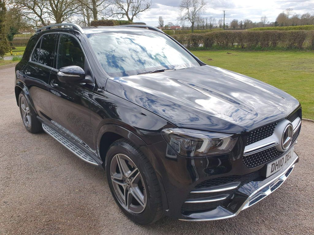 Mercedes-Benz GLE Class SUV 3.0 GLE400d AMG Line (Premium) G-Tronic 4MATIC (s/s) 5dr (7 Seat)