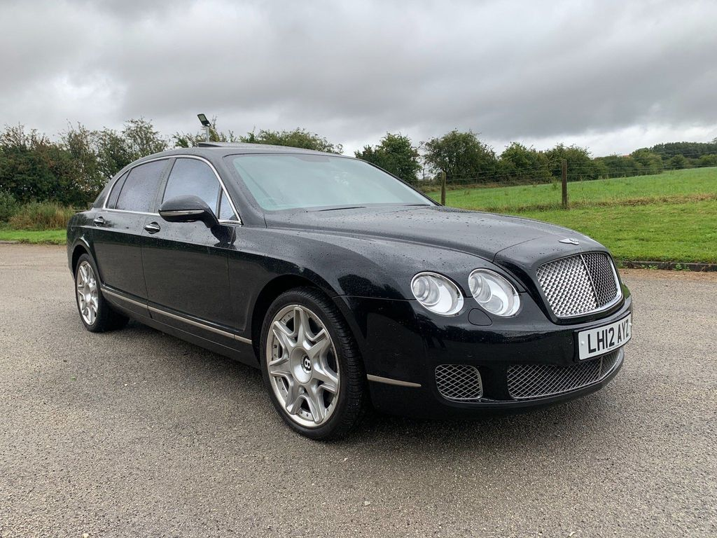 Bentley Continental Saloon 6.0 W12 Flying Spur Speed 4dr