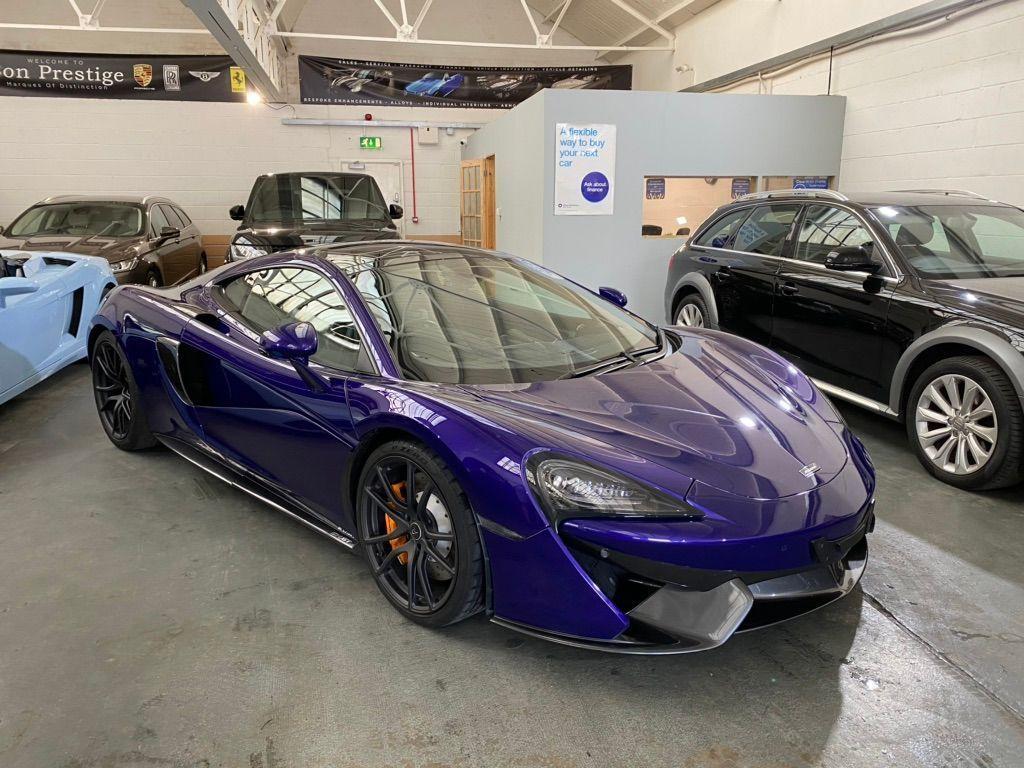 McLaren 570GT Coupe 3.8T V8 SSG (s/s) 2dr