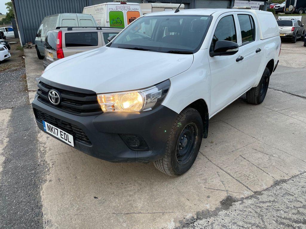 Toyota Hilux Pickup 2.4 D-4D Active Double Cab Pickup 4WD EU6 4dr