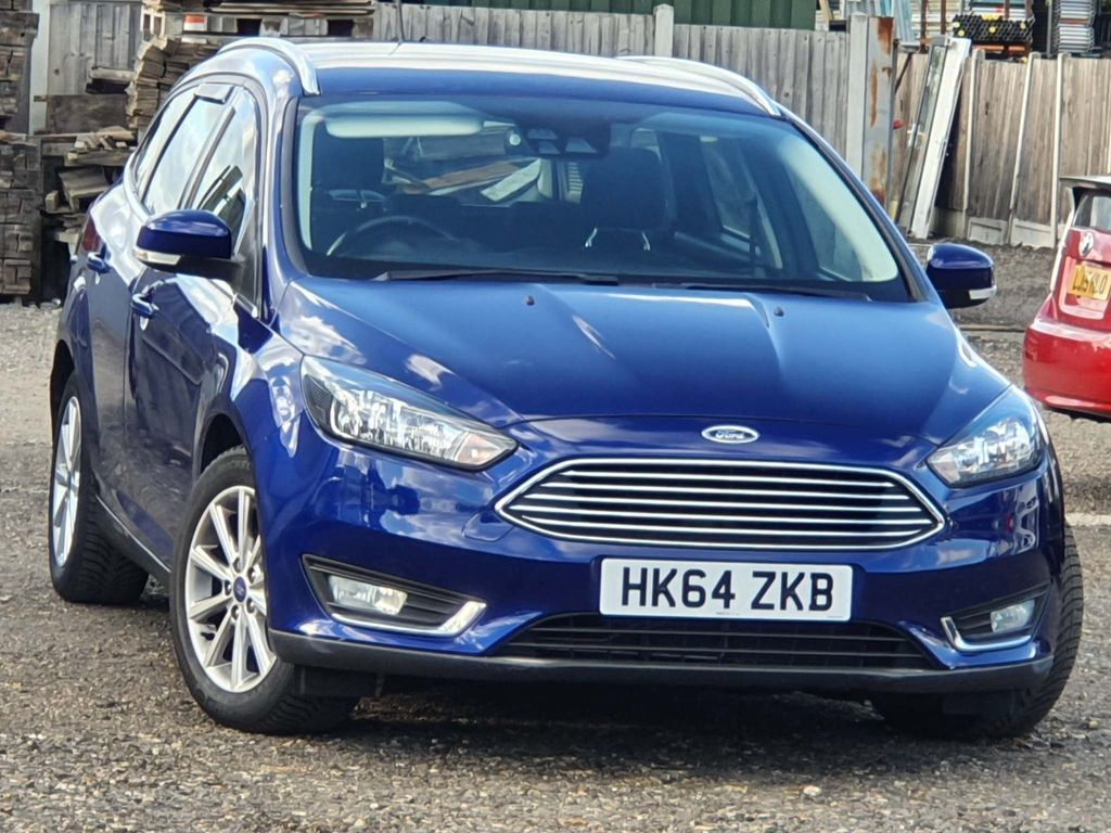 Ford Focus Estate 1.6 Titanium Powershift 5dr