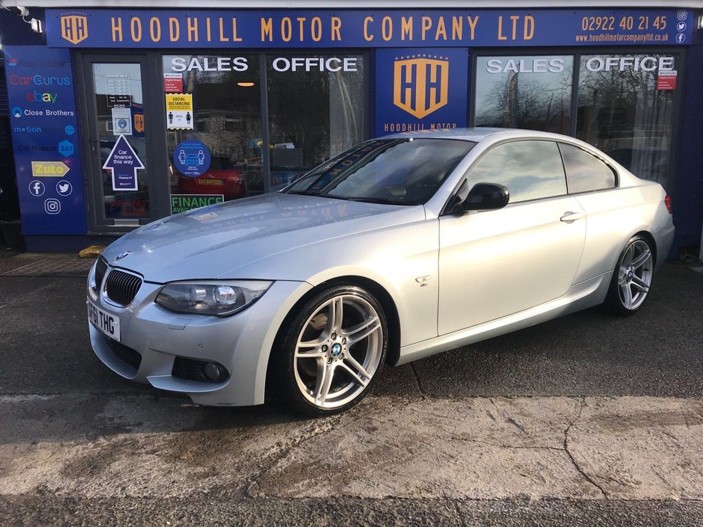 BMW 3 Series Coupe 2.0 320d Sport Plus Edition 2dr