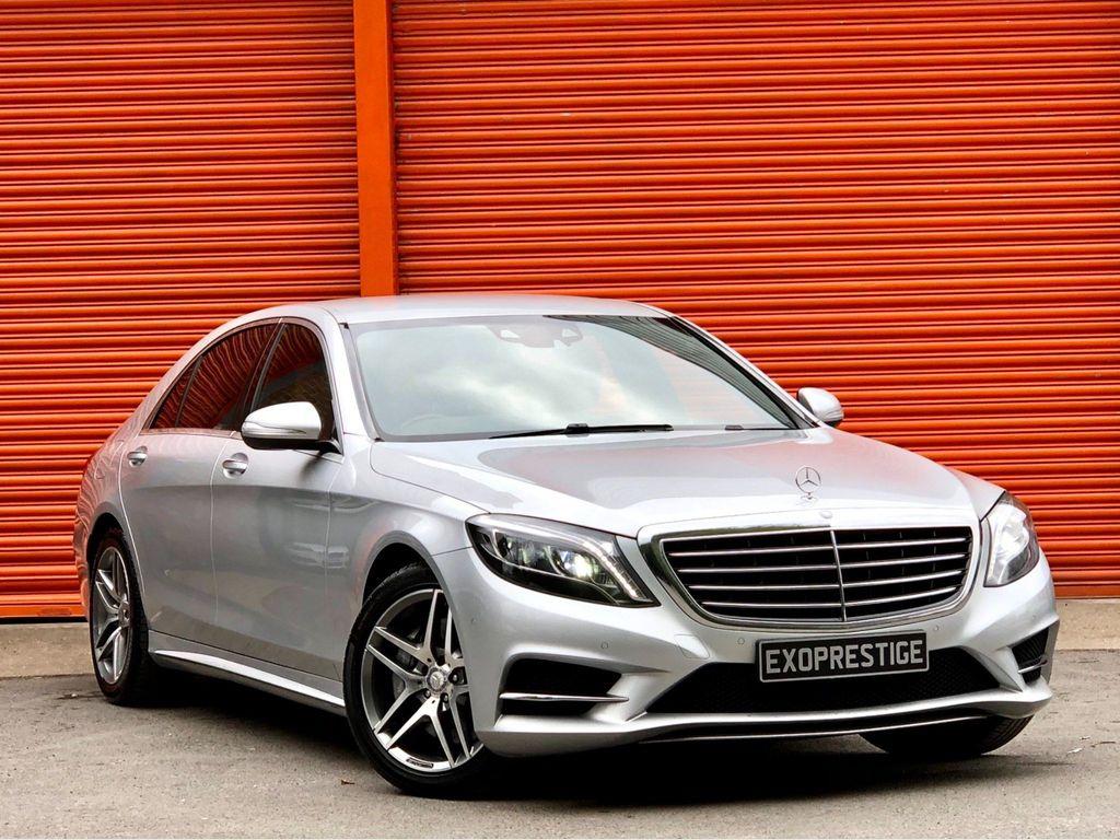 Mercedes-Benz S Class Saloon 3.0 S350L d AMG Line (Executive) 9G-Tronic (s/s) 4dr