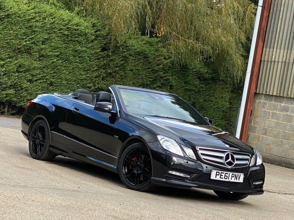 Mercedes-Benz E Class Convertible 3.5 E350 BlueEFFICIENCY Sport Edition 125 Cabriolet 7G-Tronic Plus (s/s) 2dr