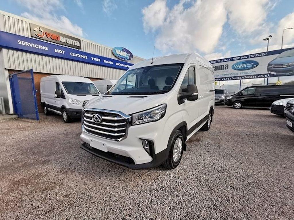 MAXUS Deliver 9 Panel Van 2.0 D20 LUX FWD L3 H2 EU6 (s/s) 5dr