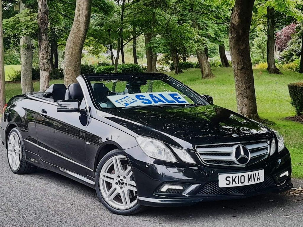 Mercedes-Benz E Class Convertible 1.8 E200 CGI BlueEFFICIENCY Sport Cabriolet 2dr
