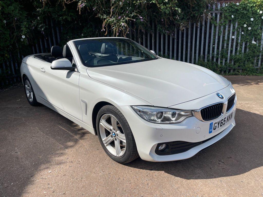 BMW 4 Series Convertible 2.0 420d SE 2dr