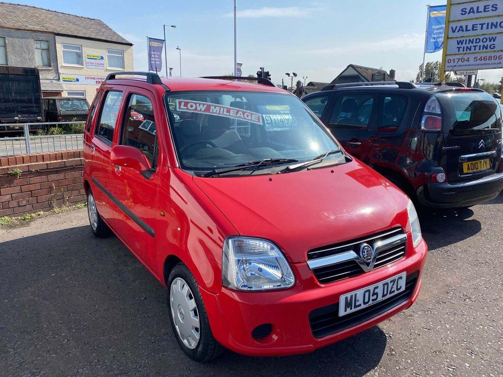 Vauxhall Agila Hatchback 1.2 i Enjoy 5dr