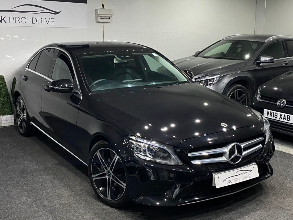 Mercedes-Benz C Class Saloon 1.5 C200 EQ Boost Sport G-Tronic+ (s/s) 4dr