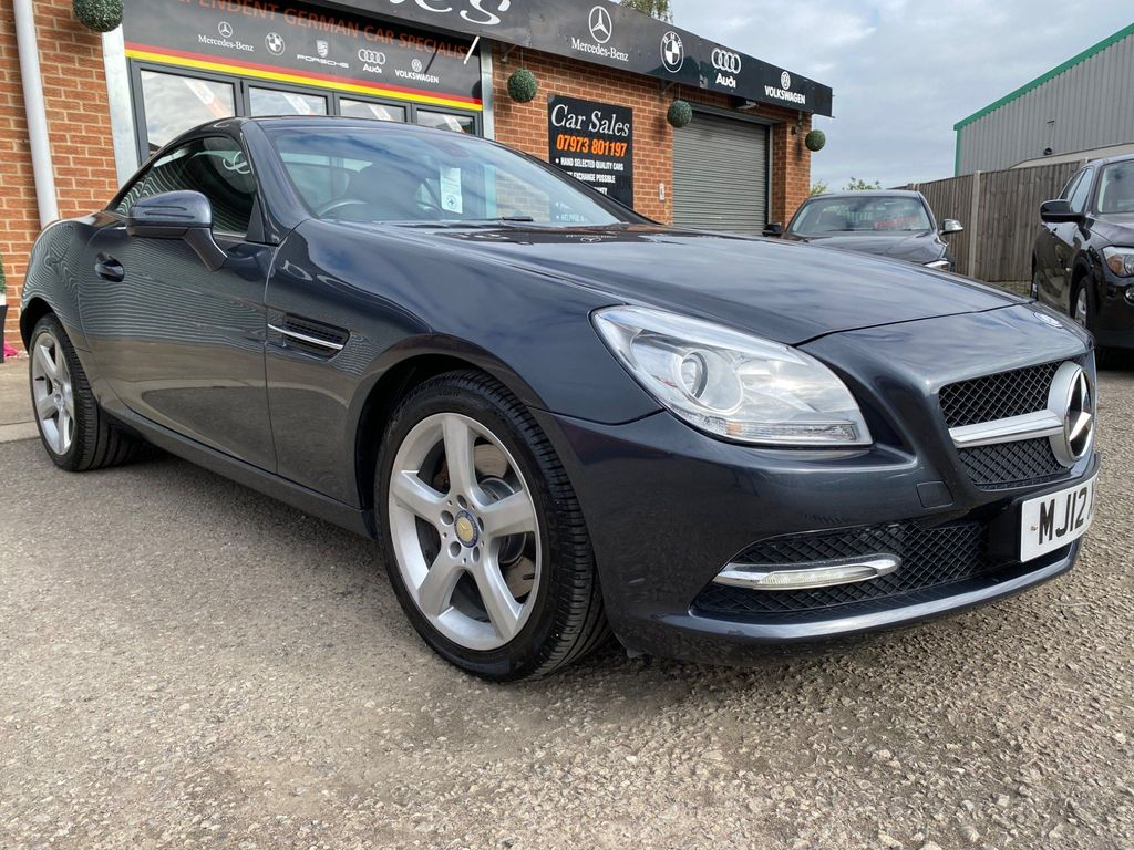 Mercedes-Benz SLK Convertible 2.1 SLK250 CDI BlueEFFICIENCY 7G-Tronic Plus 2dr