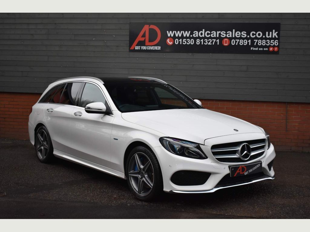 Mercedes-Benz C Class Estate 2.0 C350e 6.4kWh AMG Line (Premium) G-Tronic+ (s/s) 5dr